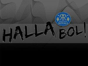 Rajasthan Royals Halla Bol Song Theme Song