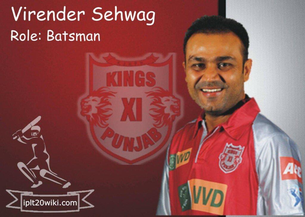 Virender Sehwag - Kings XI Punjab IPL 2015 Player