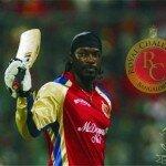Chris Gayle Royal Challengers Bangalore IPL 2015 Wallpaper