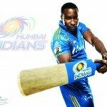 Kieron Pollard IPL 2015 Mumbai Indians Wallpaper
