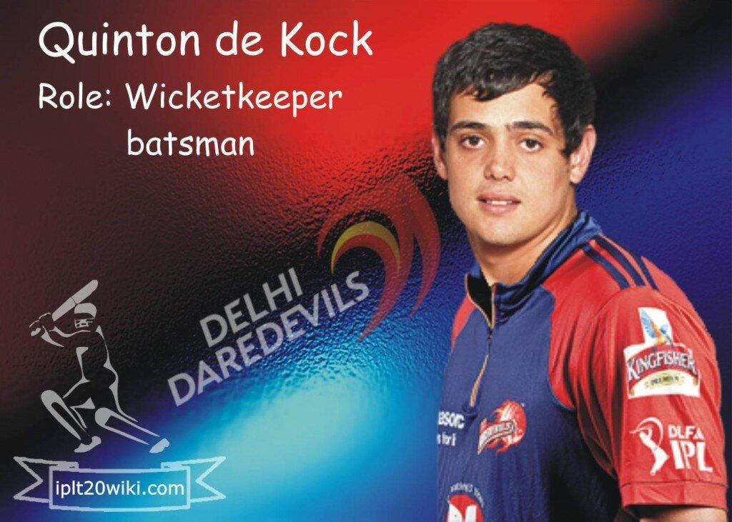 Quinton de Kock - Delhi Daredevils IPL 2014 Player