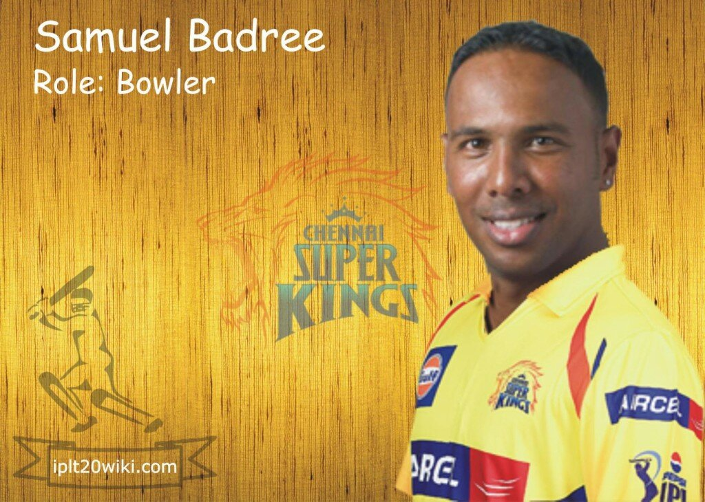 Samuel Badree - Chennai Super Kings IPL 2015 Player