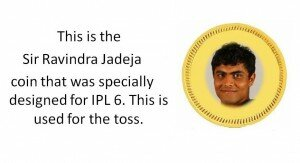 Sir Ravindra Jadeja - IPL 2013 Jokes