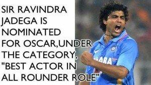Sir Ravindra Jadeja Oscar Awards